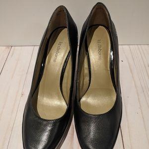 Liz Claiborne  shoes real leather black woman
